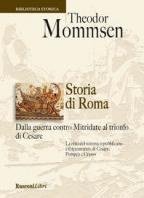 Copertina de STORIA DI ROMA DALLA GUERRA CONTRO MITRIDATE AL TRIONFO DI CESARE
