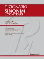 Copertina de DIZIONARIO SINONIMI E CONTRARI