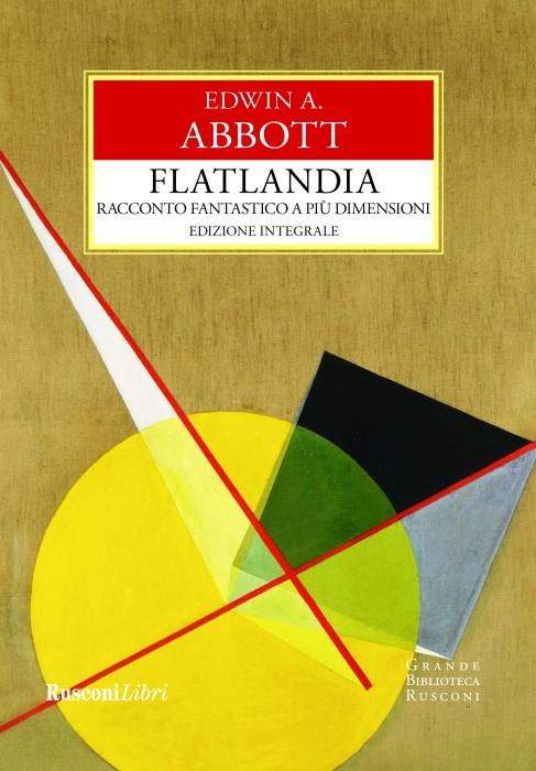 Copertina de FLATLANDIA - RACCONTO FANTASTICO A PIÙ DIMENSIONI
