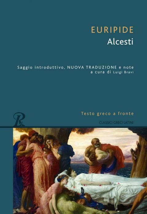 ALCESTI-TESTO GRECO A FRONTE