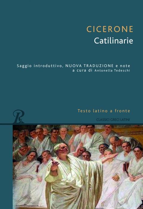 Copertina de CATILINARIE-TESTO LATINO A FRONTE