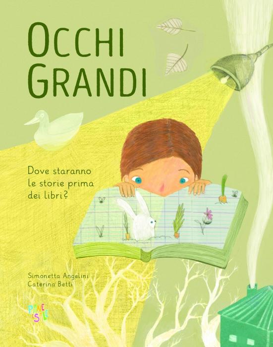 Copertina de OCCHI GRANDI