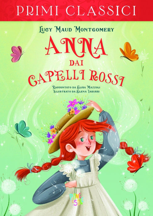 Copertina de ANNA DAI CAPELLI ROSSI