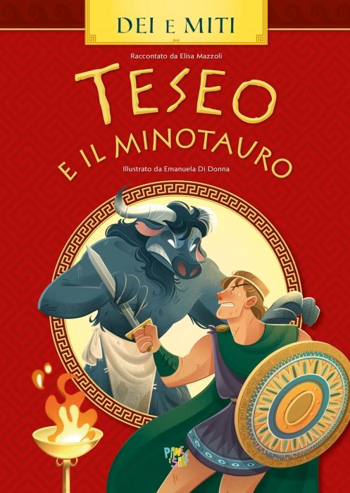 Copertina de LABIRINTO E IL MINOTAURO, IL