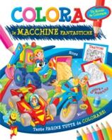 Copertina de COLORA LE MACCHINE FANTASTICHE