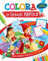 Copertina de COLORA LE GRANDI FAVOLE