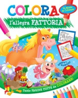 Copertina de COLORA L'ALLEGRA FATTORIA