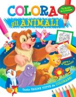 Copertina de COLORA GLI ANIMALI