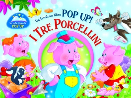 Copertina de TRE PORCELLINI, I - POP UP