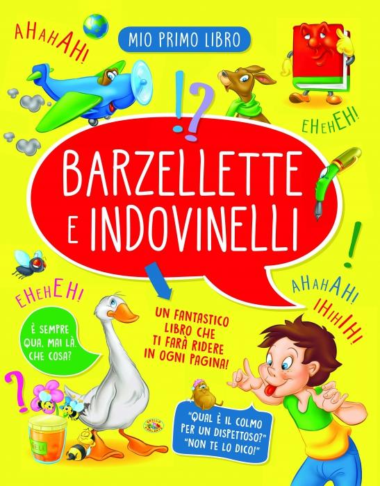 Copertina de BARZELLETTE E INDOVINELLI