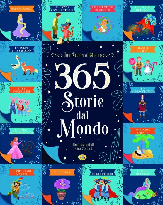Copertina de 365 STORIE DAL MONDO