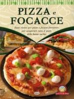 Copertina de PIZZA E FOCACCE