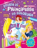 Copertina de STORIE DI PRINCIPESSE DA COLORARE -SISSI + RAPERONZOLO