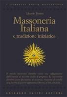 Copertina de MASSONERIA ITALIANA E TRADIZIONE INIZIATICA