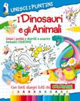 Copertina de UNISCI I PUNTINI - DINOSAURI+ANIMALI