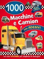 Copertina de 1000 MACCHINE E CAMION CON ADESIVI