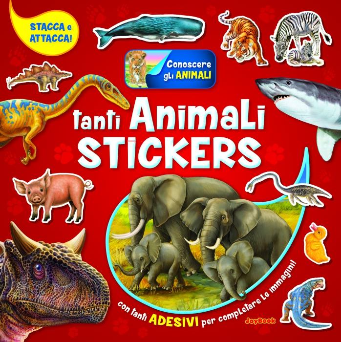 Copertina de TANTI ANIMALI STICKERS