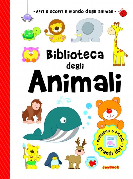 Copertina de BIBLIOTECA DEGLI ANIMALI