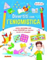 Copertina de DIVERTITI CON L'ENIGMISTICA 8-10 ANNI