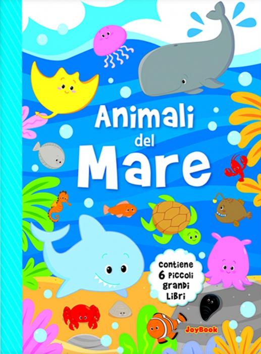 Copertina de ANIMALI DEL MARE