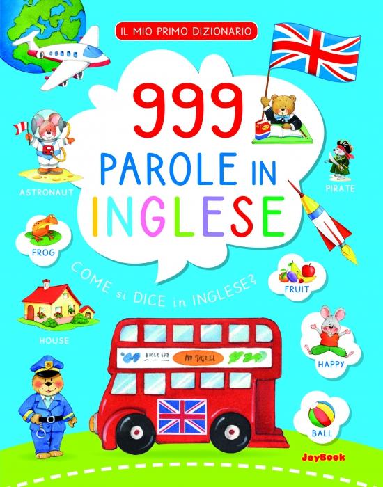 Copertina de 999 PAROLE IN INGLESE