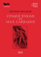 Copertina de CINQUE ENIGMI PER MAX CARRADOS