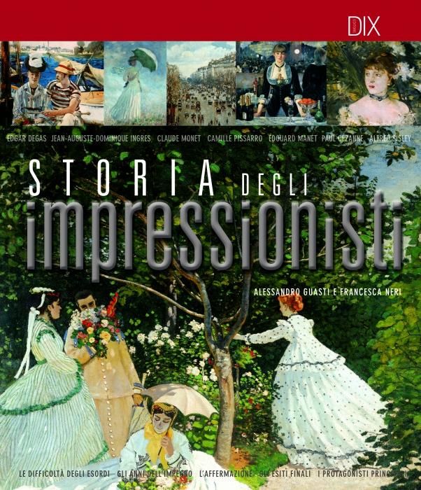 Copertina de STORIA DEGLI IMPRESSIONISTI